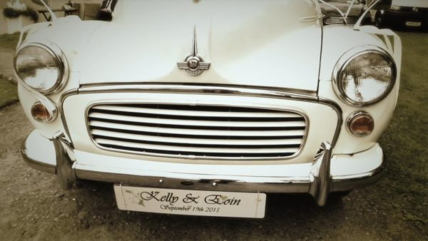 Vintage Wedding Car - Morris Minor