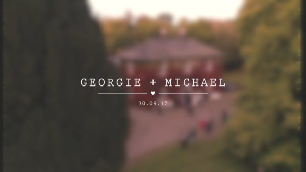 Georgie and Michaels Wedding Highlight